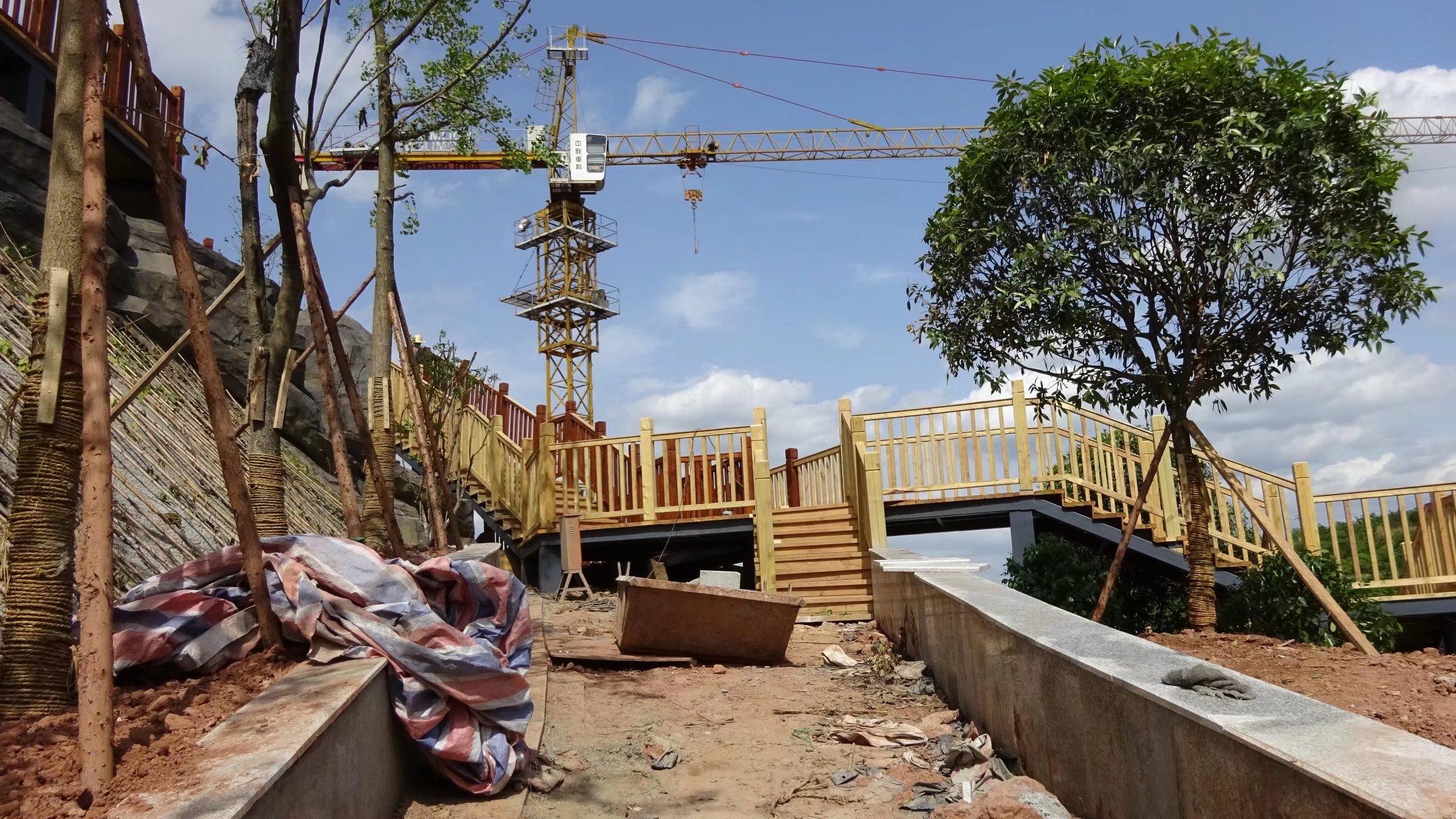 蓬安桑梓火锅公园施工进度(2018-05-10) - 第10张  | 蓬安在线