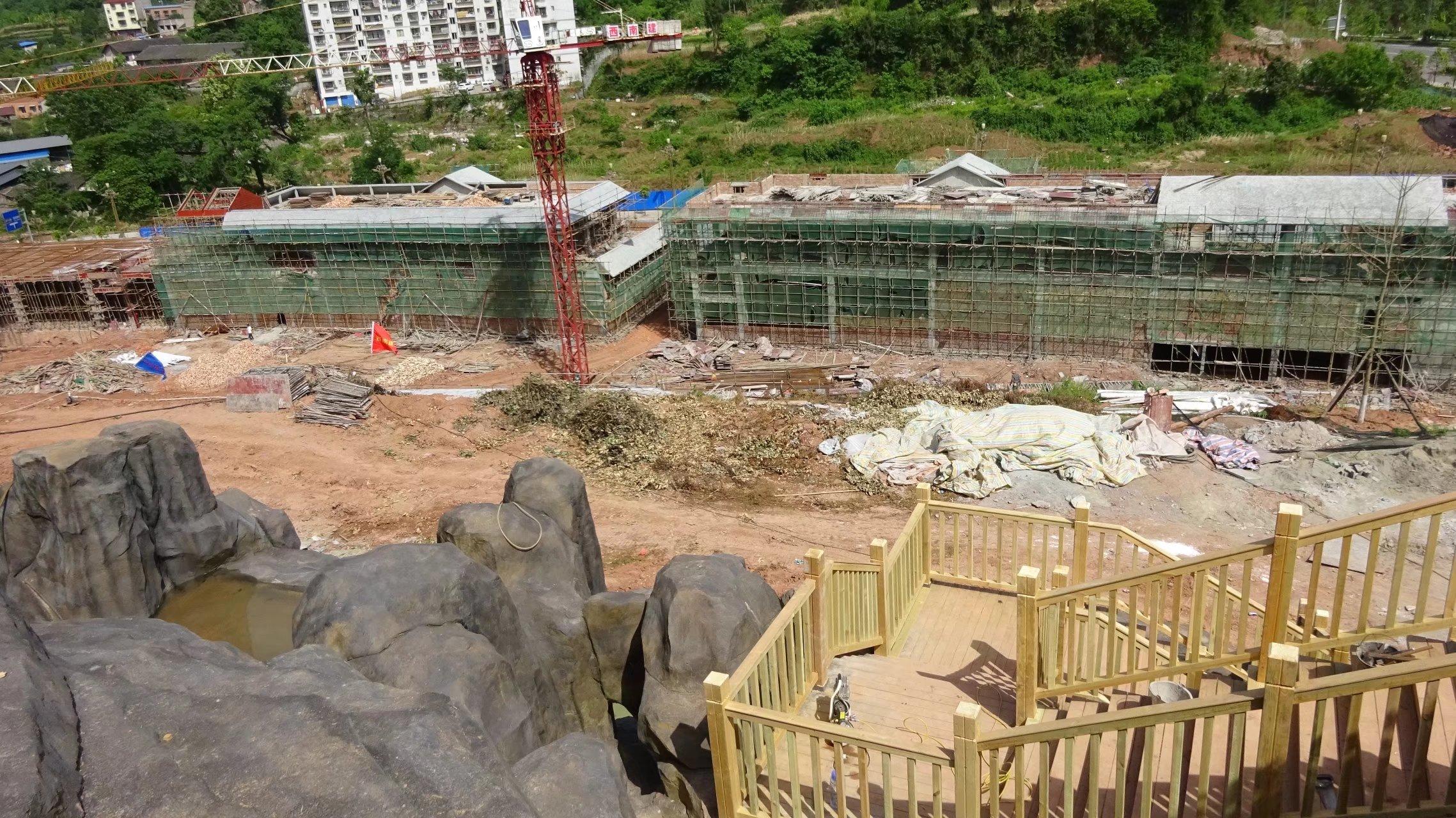 蓬安桑梓火锅公园施工进度(2018-05-10) - 第11张  | 蓬安在线