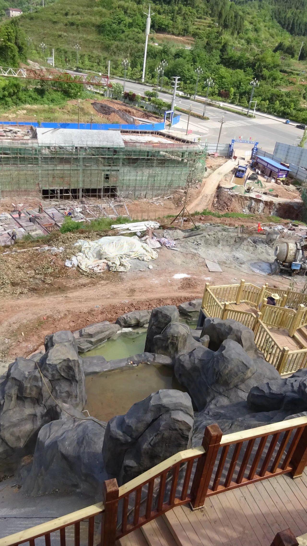 蓬安桑梓火锅公园施工进度(2018-05-10) - 第14张  | 蓬安在线