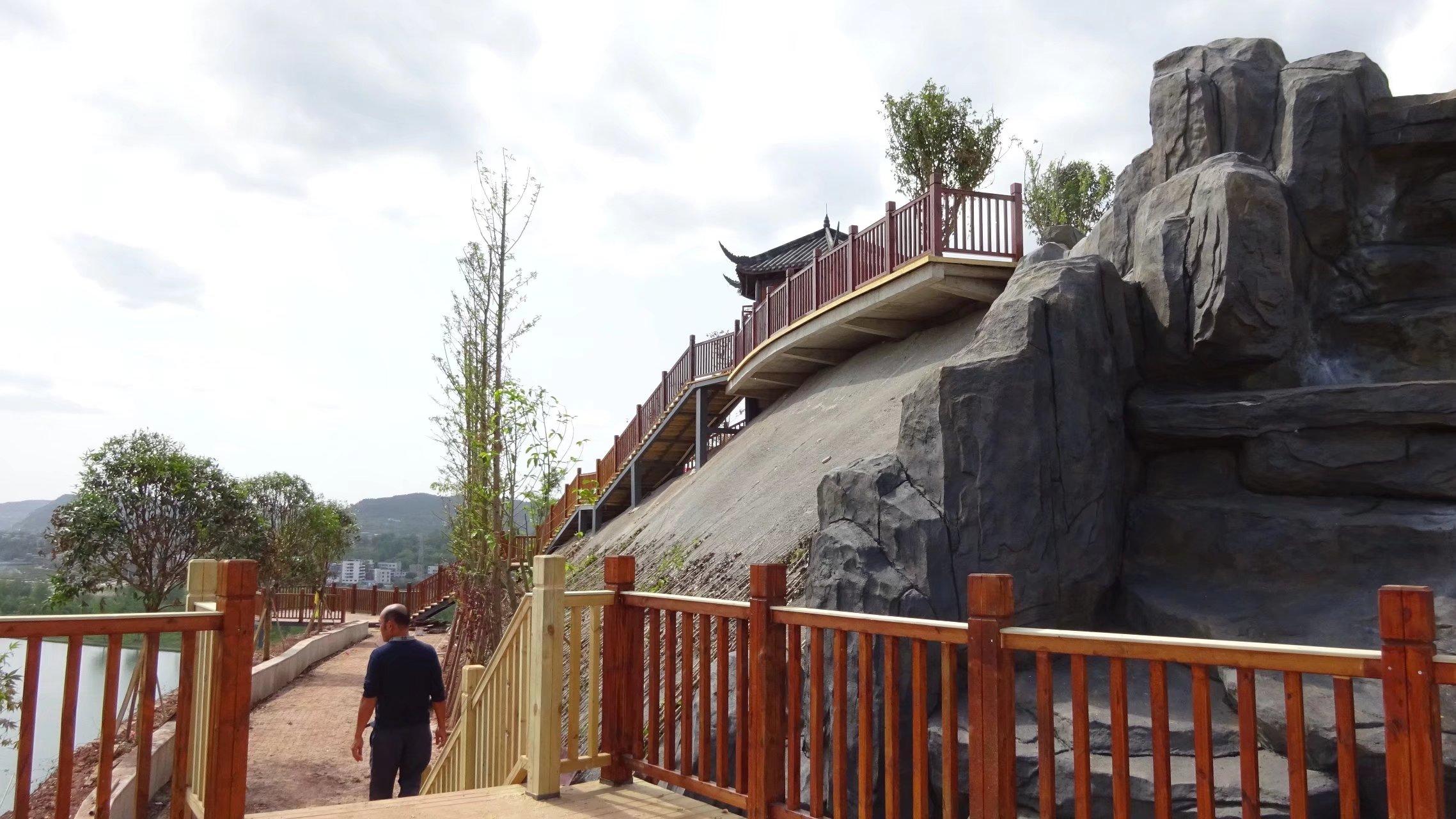 蓬安桑梓火锅公园施工进度(2018-05-10) - 第16张  | 蓬安在线