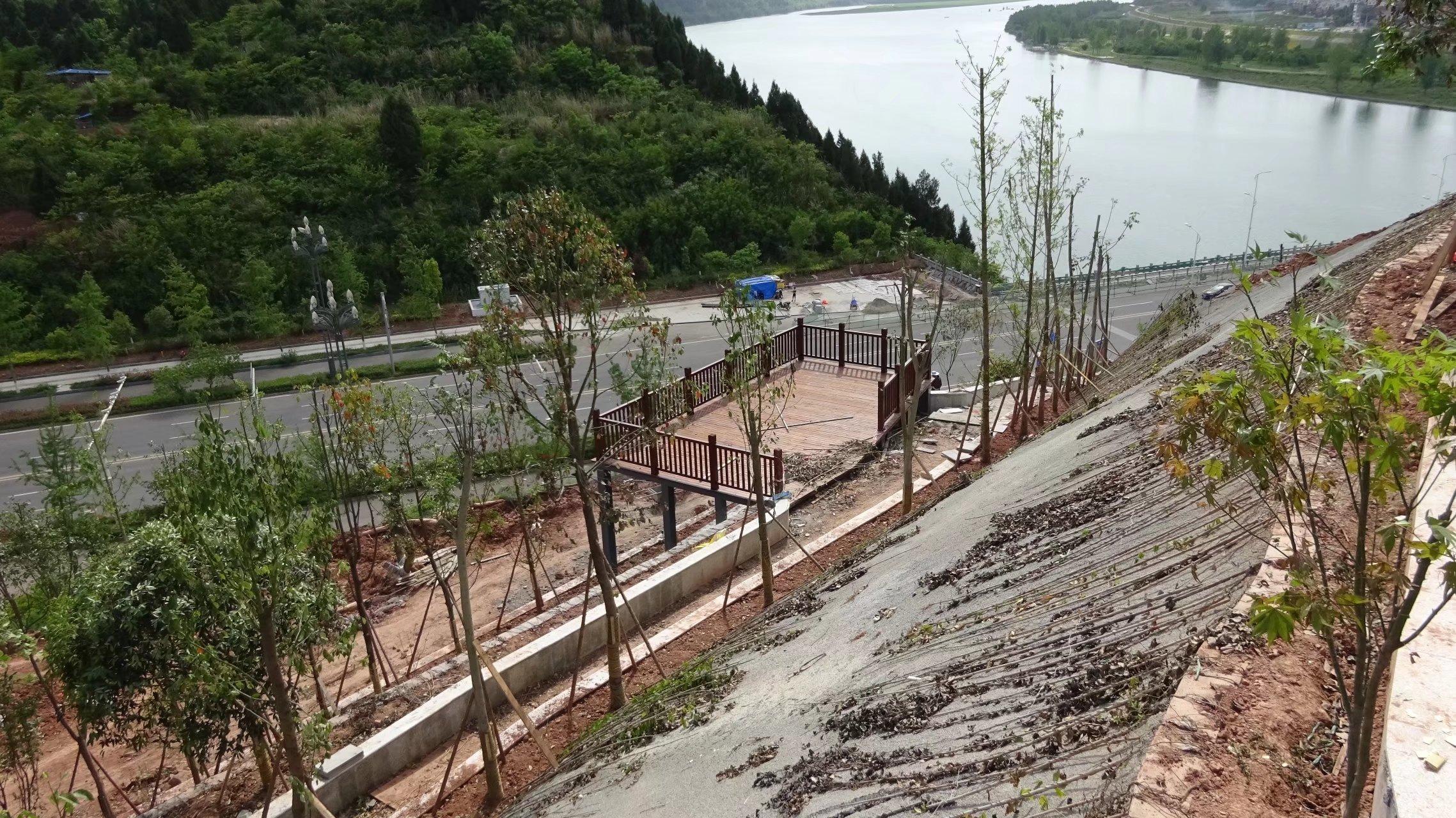 蓬安桑梓火锅公园施工进度(2018-05-10) - 第17张  | 蓬安在线
