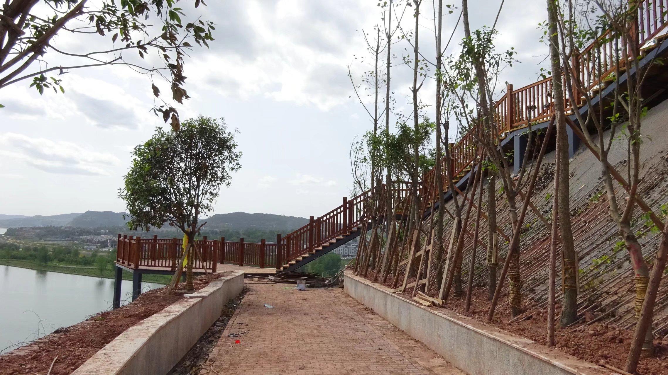 蓬安桑梓火锅公园施工进度(2018-05-10) - 第18张  | 蓬安在线