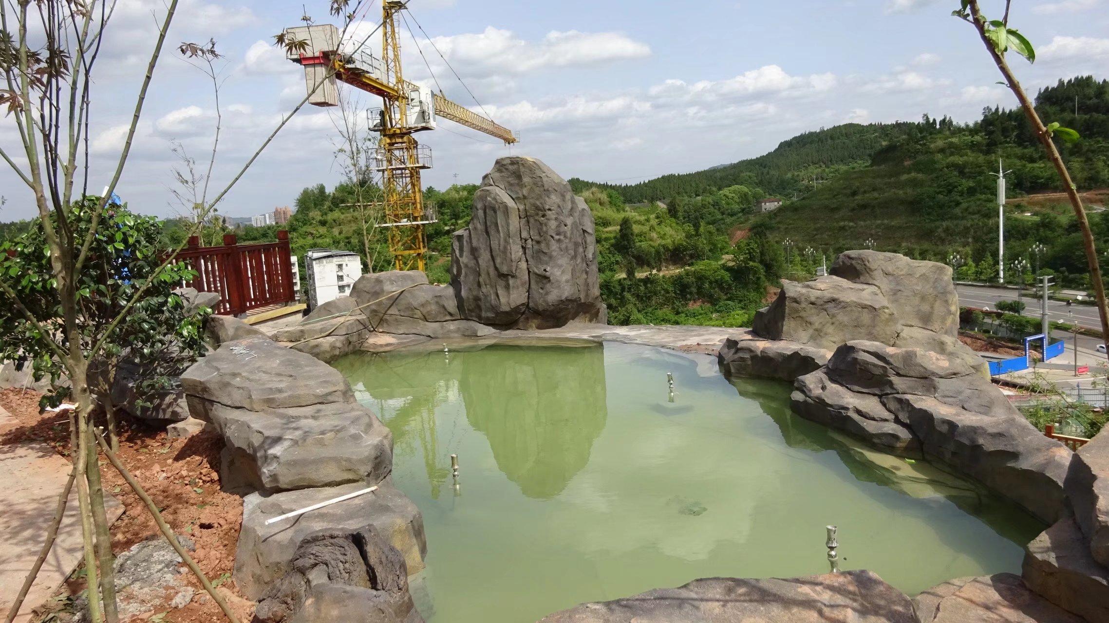 蓬安桑梓火锅公园施工进度(2018-05-10) - 第25张  | 蓬安在线