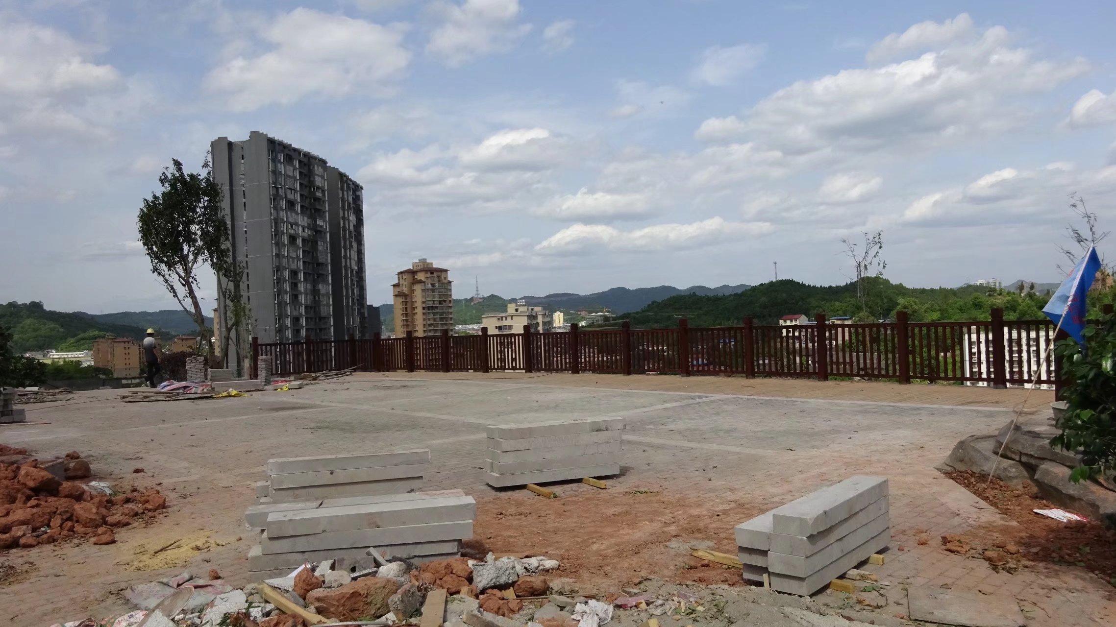 蓬安桑梓火锅公园施工进度(2018-05-10) - 第26张  | 蓬安在线