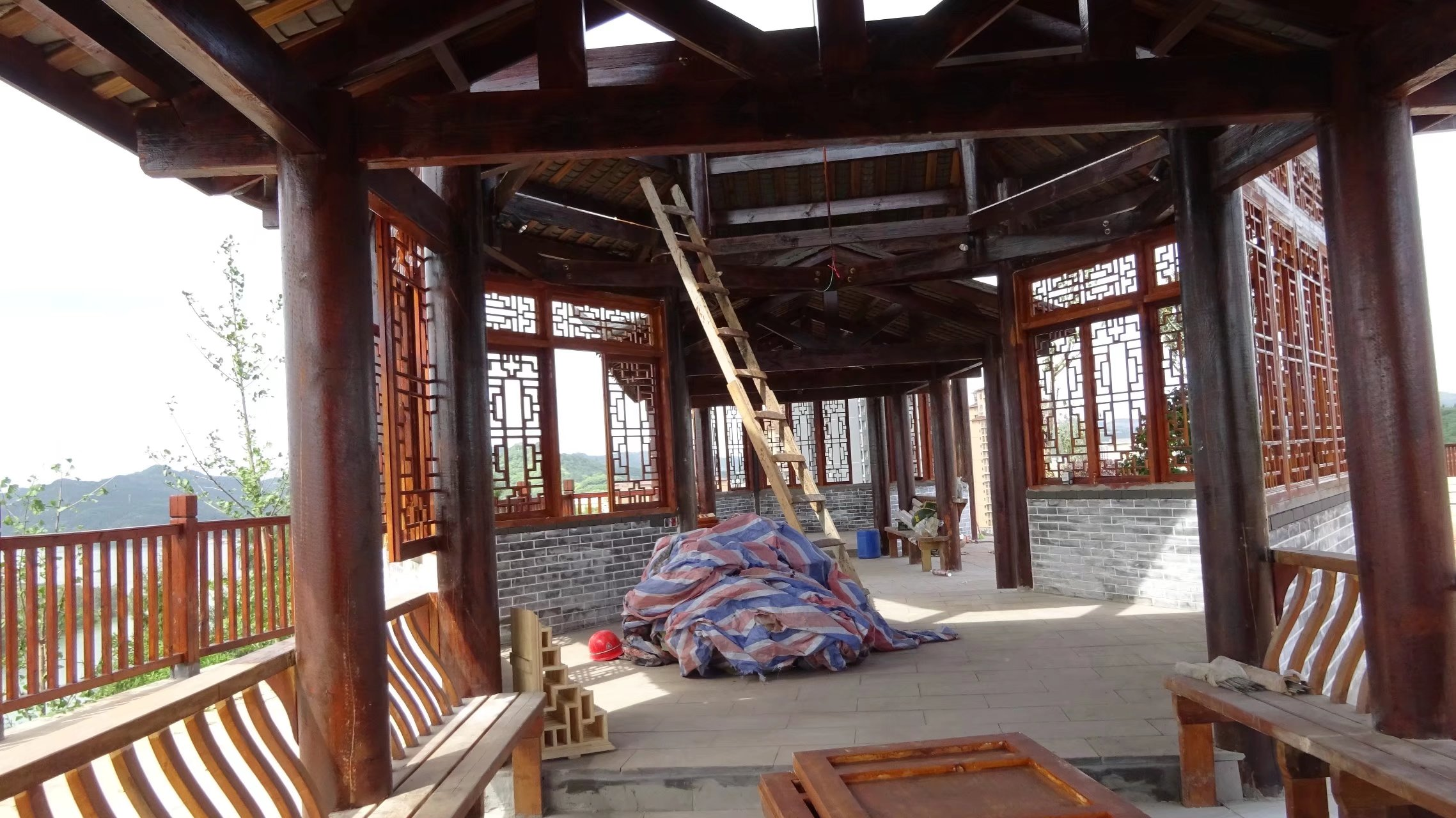 蓬安桑梓火锅公园施工进度(2018-05-10) - 第28张  | 蓬安在线
