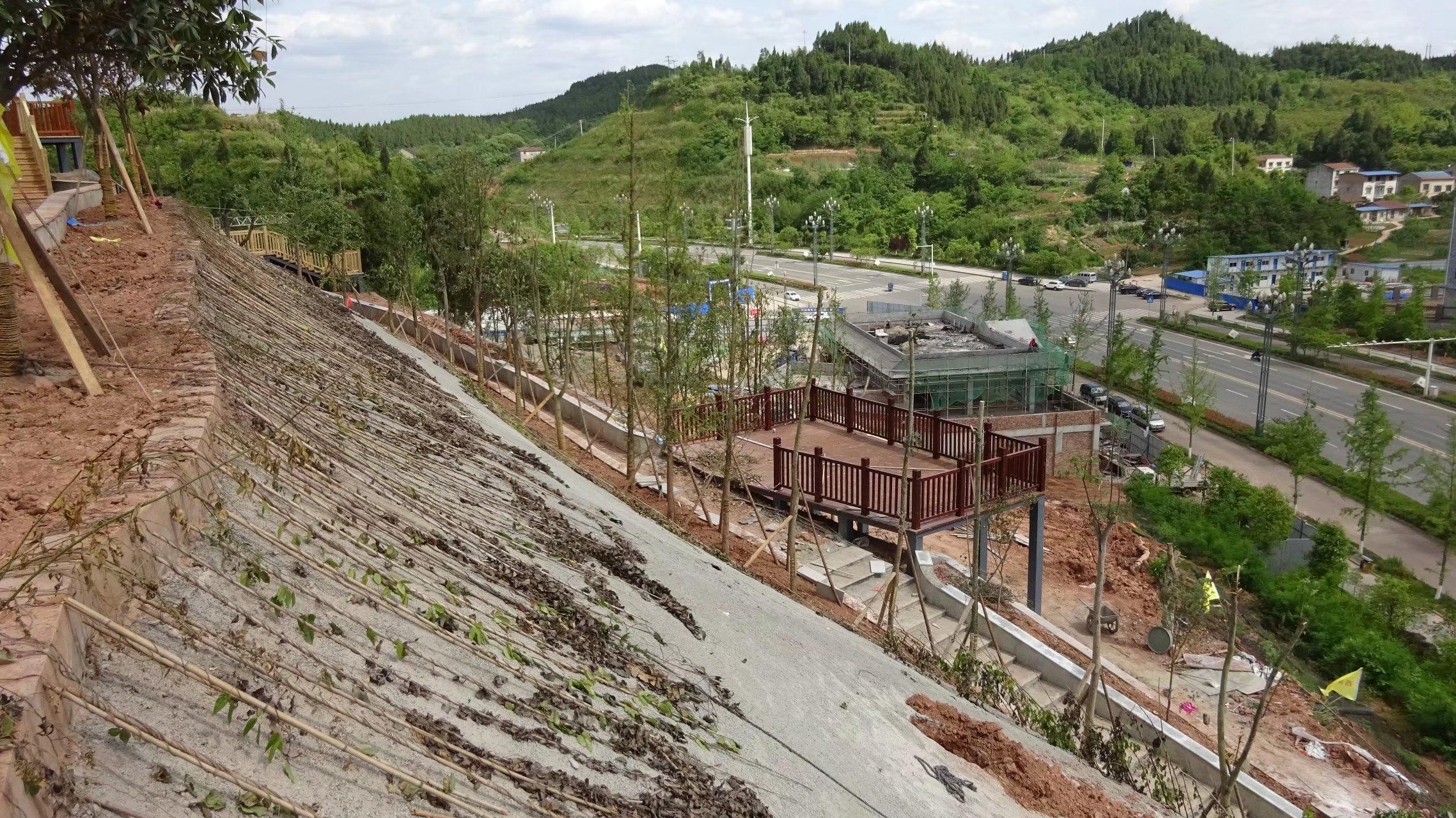 蓬安桑梓火锅公园施工进度(2018-05-10) - 第35张  | 蓬安在线