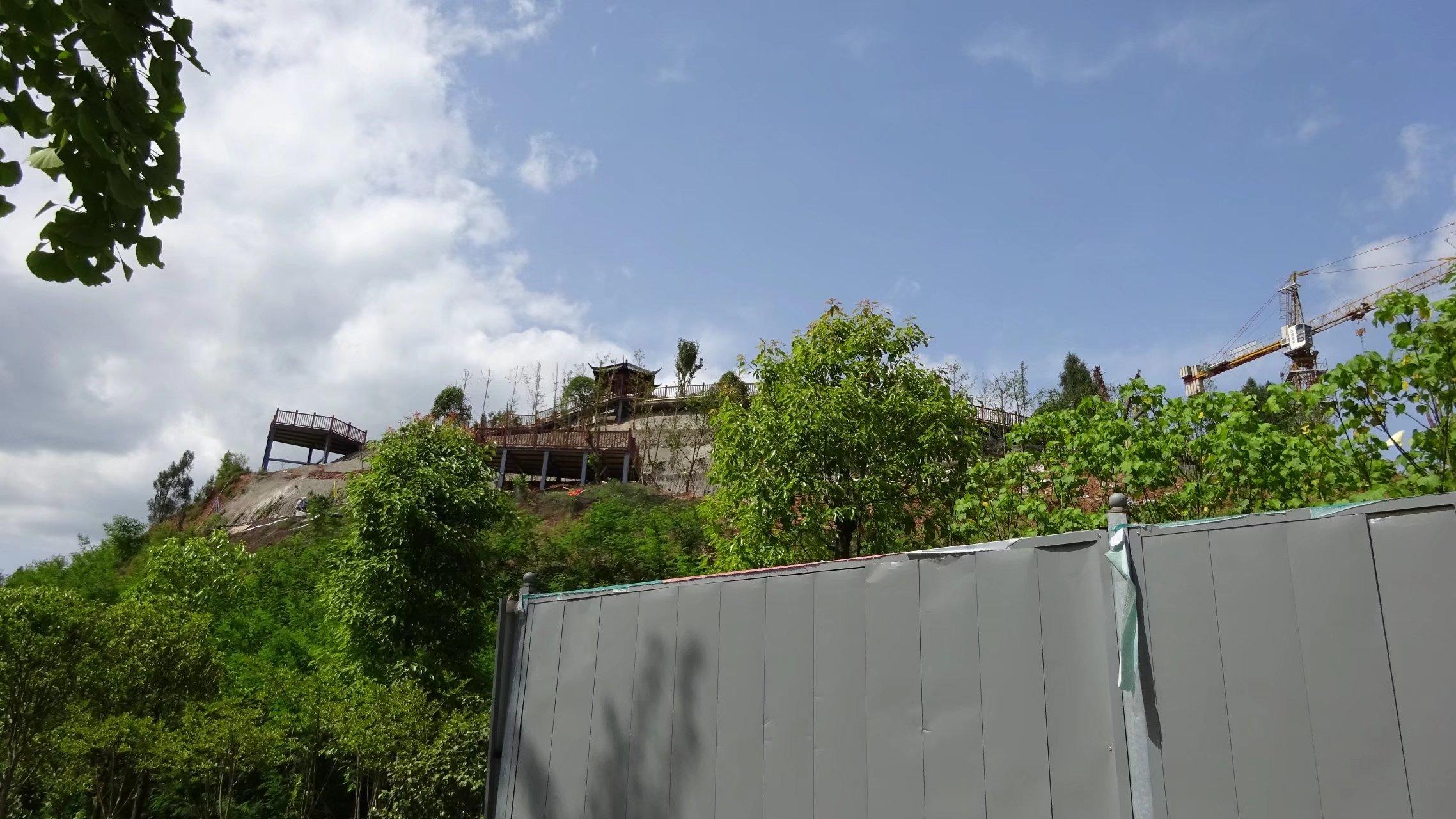 蓬安桑梓火锅公园施工进度(2018-05-10) - 第4张  | 蓬安在线