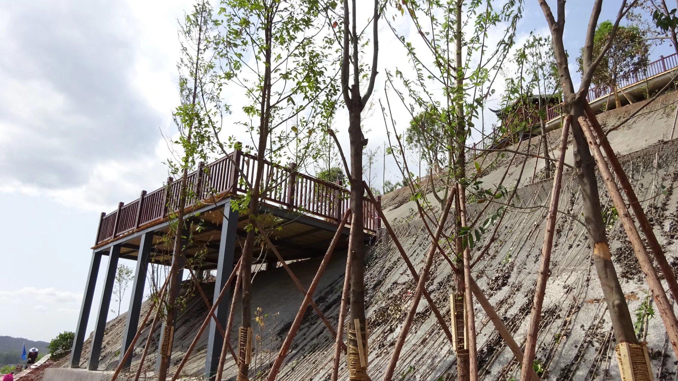 蓬安桑梓火锅公园施工进度(2018-05-10) - 第5张  | 蓬安在线
