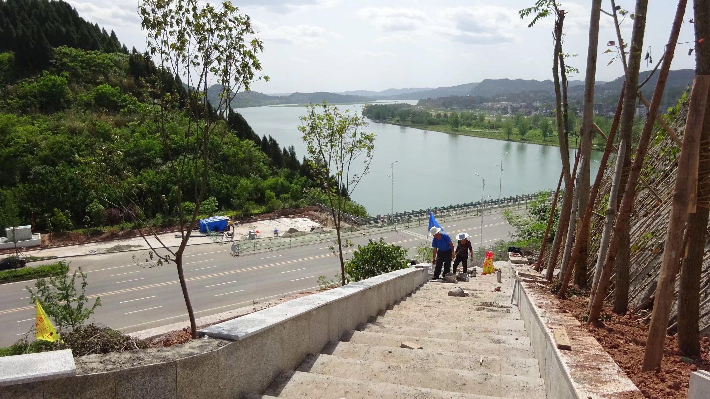 蓬安桑梓火锅公园施工进度(2018-05-10) - 第8张  | 蓬安在线