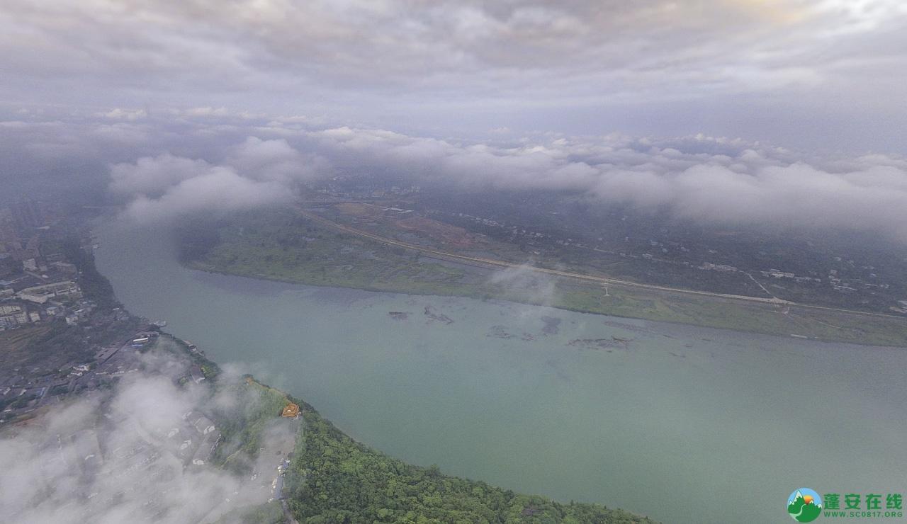 蓬安晨雾似云海 - 第11张  | 蓬安在线
