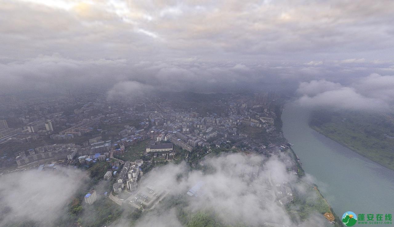 蓬安晨雾似云海 - 第12张  | 蓬安在线