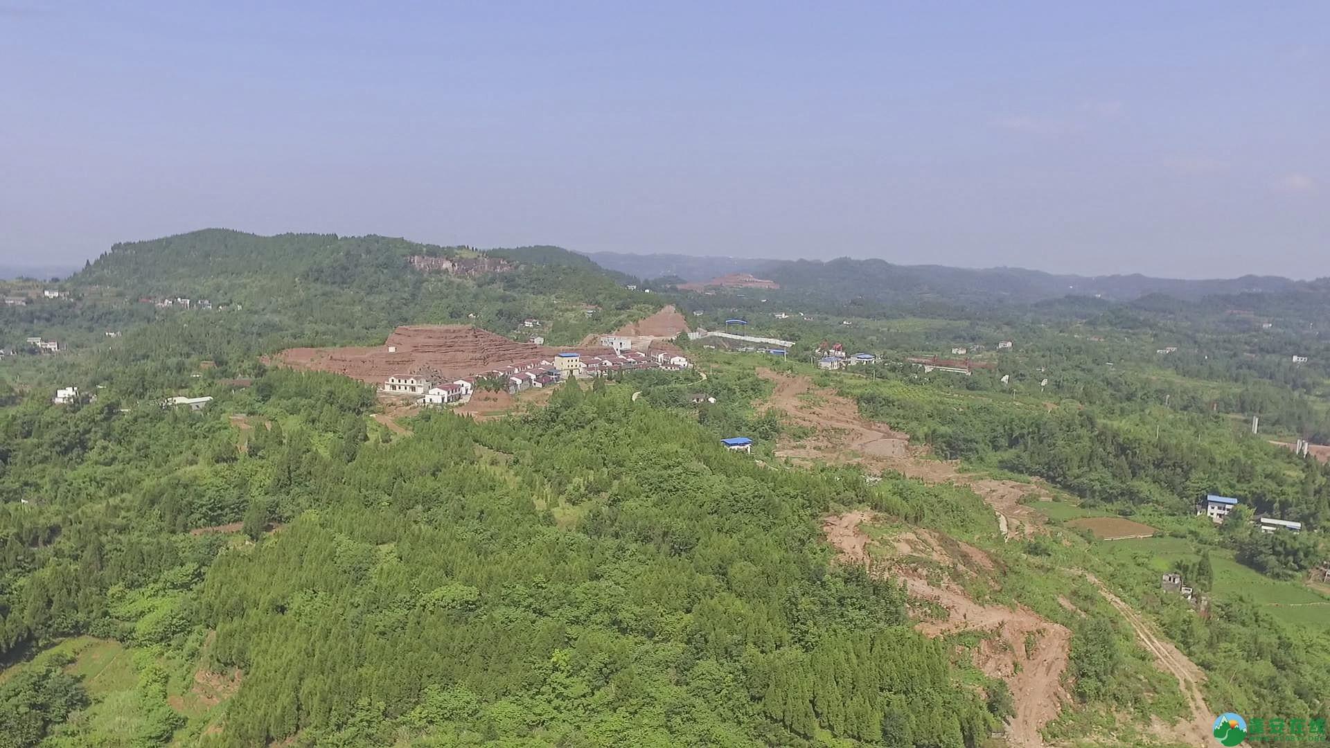 蓬安锦屏段S305省道改线工程进展 - 第14张  | 蓬安在线