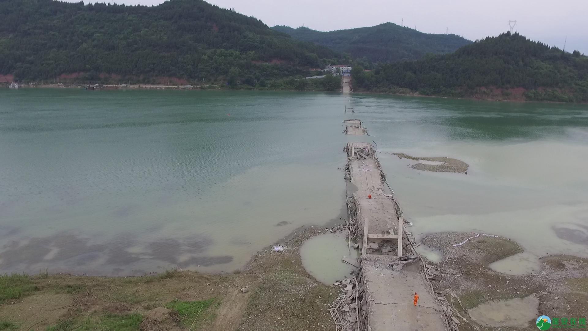 蓬安嘉陵江一桥成功爆破拆除 - 第14张  | 蓬安在线