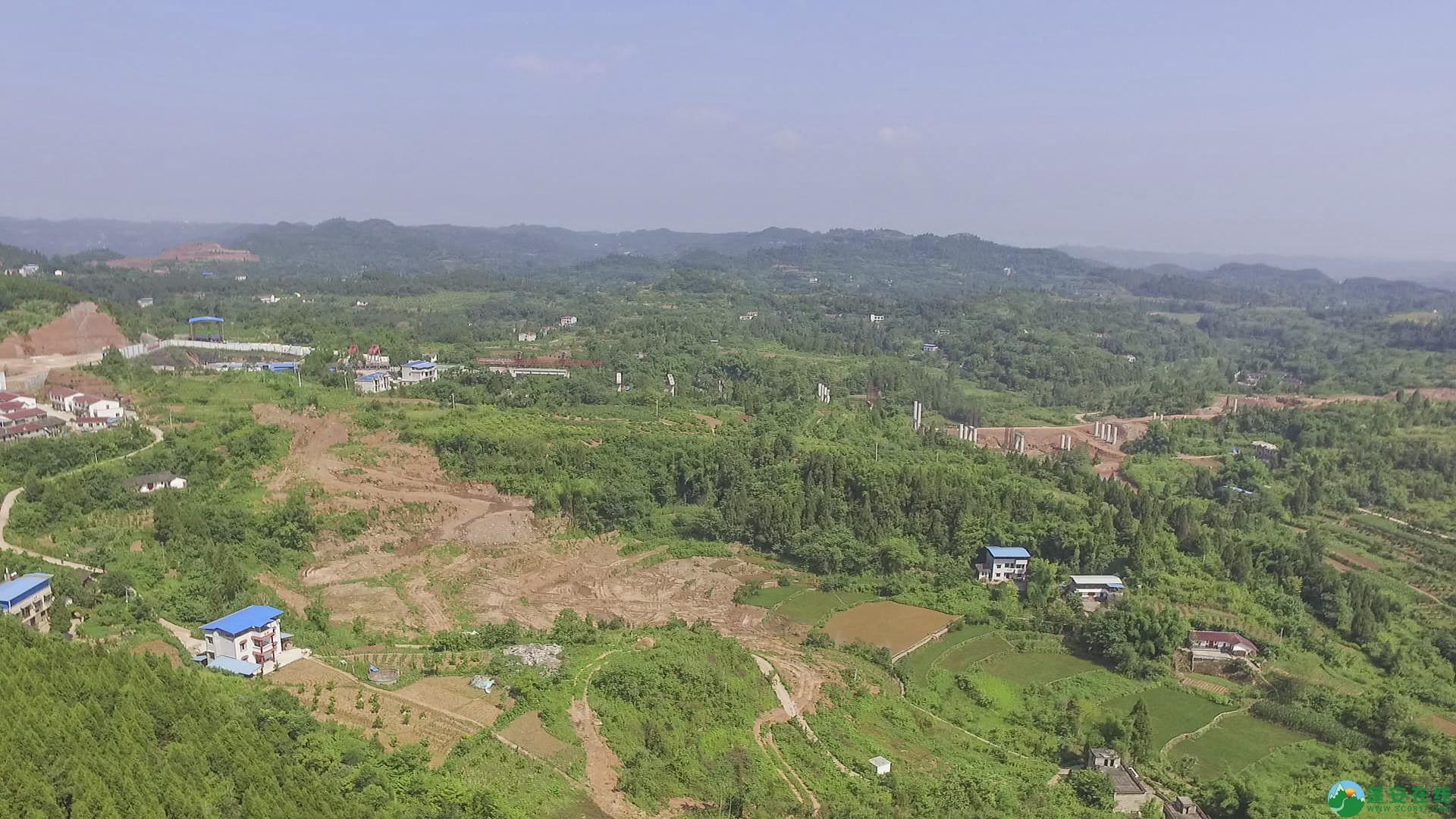 蓬安锦屏段S305省道改线工程进展 - 第16张  | 蓬安在线