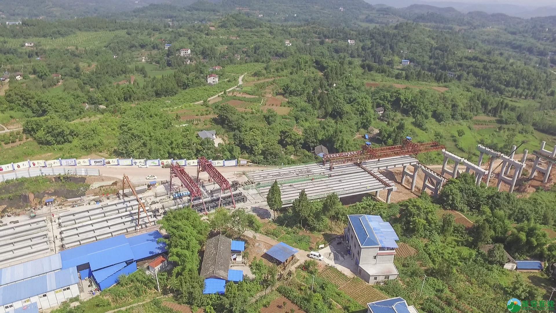 蓬安锦屏段S305省道改线工程进展 - 第18张  | 蓬安在线