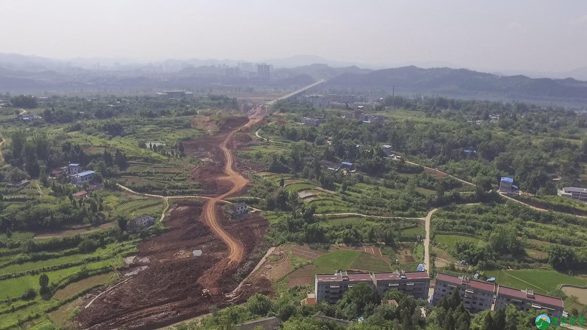 蓬安锦屏段S305省道改线工程进展 - 第19张  | 蓬安在线