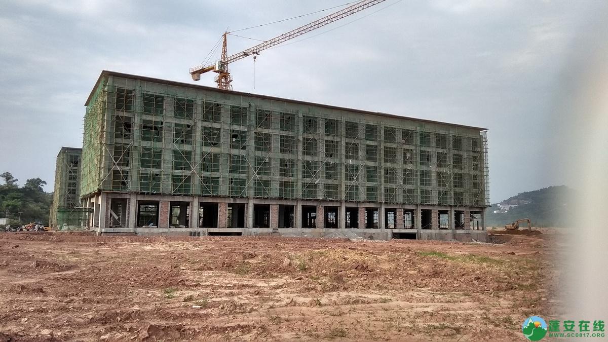 蓬安锦屏相如五星级大酒店建设进展(2018.6.3) - 第2张  | 蓬安在线