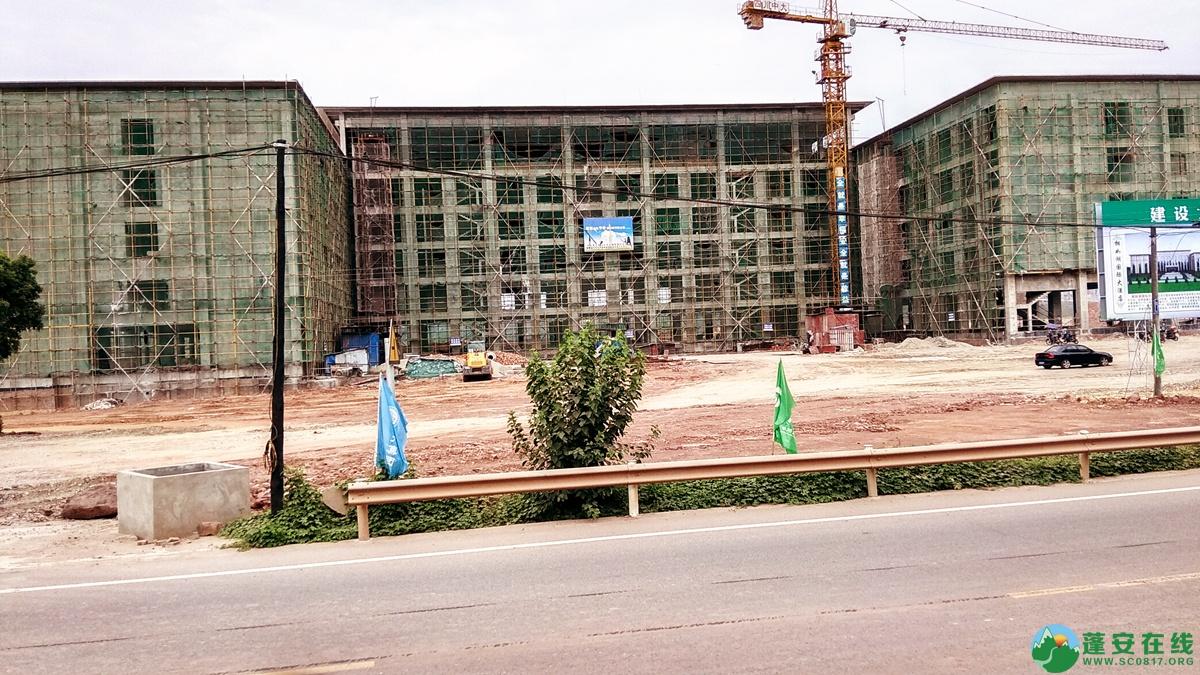 蓬安锦屏相如五星级大酒店建设进展(2018.6.3) - 第3张  | 蓬安在线