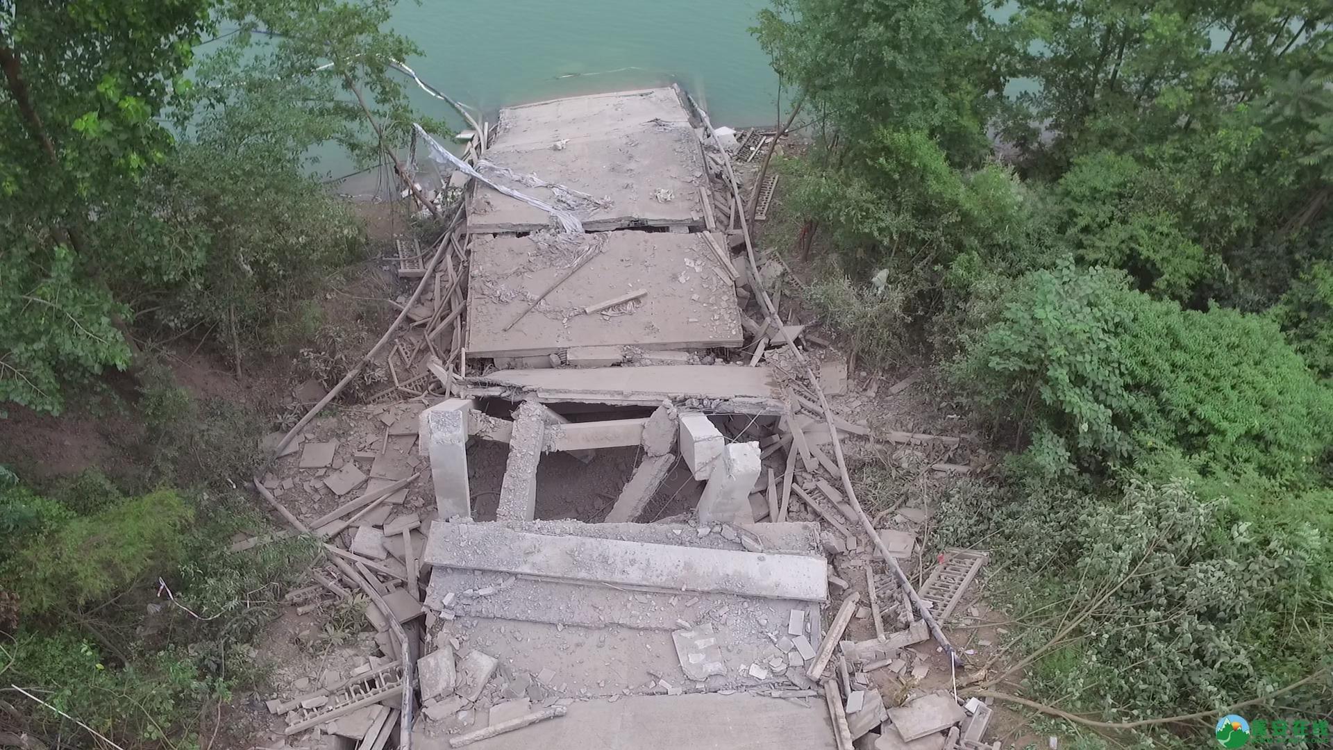 蓬安嘉陵江一桥成功爆破拆除 - 第7张  | 蓬安在线
