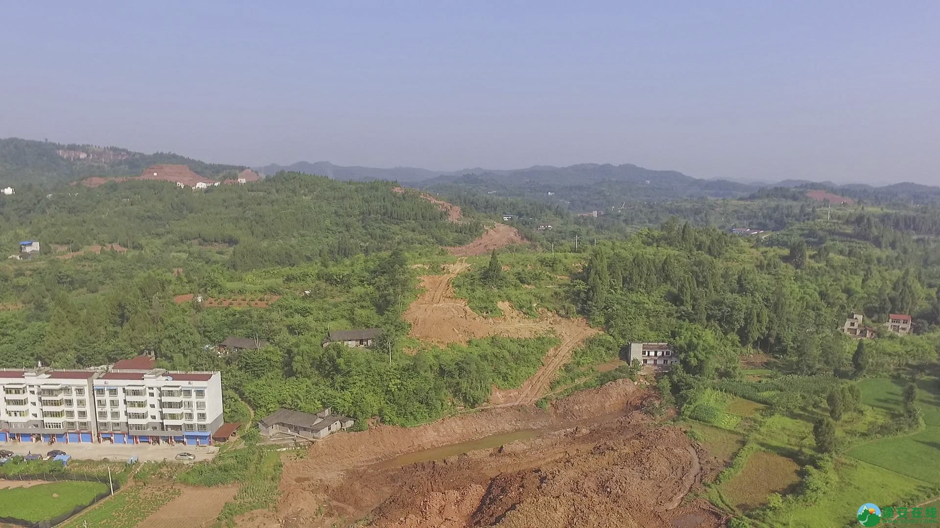 蓬安锦屏段S305省道改线工程进展 - 第8张  | 蓬安在线