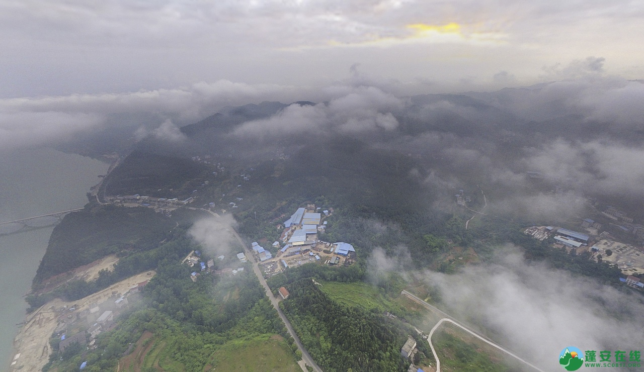 蓬安晨雾似云海 - 第9张  | 蓬安在线