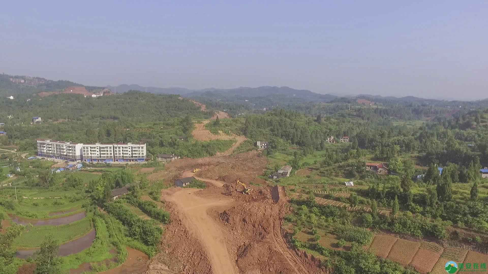 蓬安锦屏段S305省道改线工程进展 - 第9张  | 蓬安在线