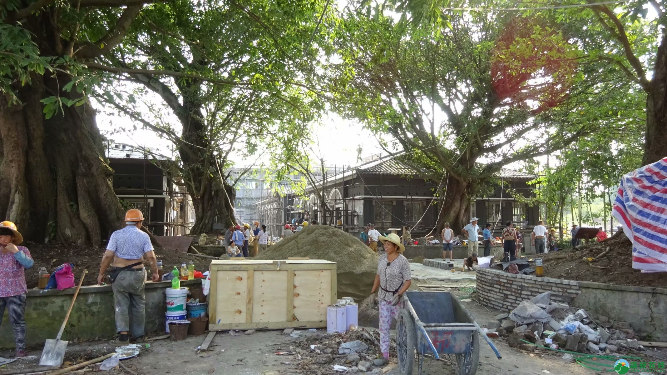 蓬安锦屏相如故城建设迅猛 - 第49张  | 蓬安在线