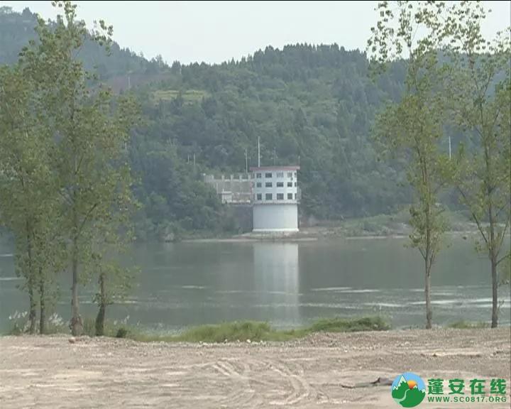 蓬安县锦屏镇万吨砂石堆放饮用水源地,被要求限期整改! - 第2张  | 蓬安在线