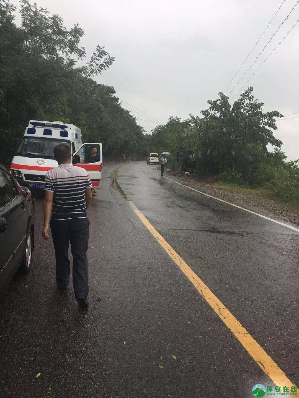 蓬安一男子,在去龙云寺途中突遇车祸不幸身亡 - 第3张  | 蓬安在线