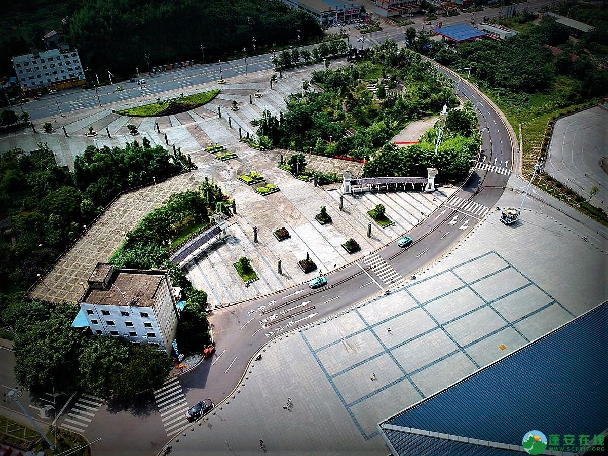 蓬安火车站全貌 - 第2张  | 蓬安在线
