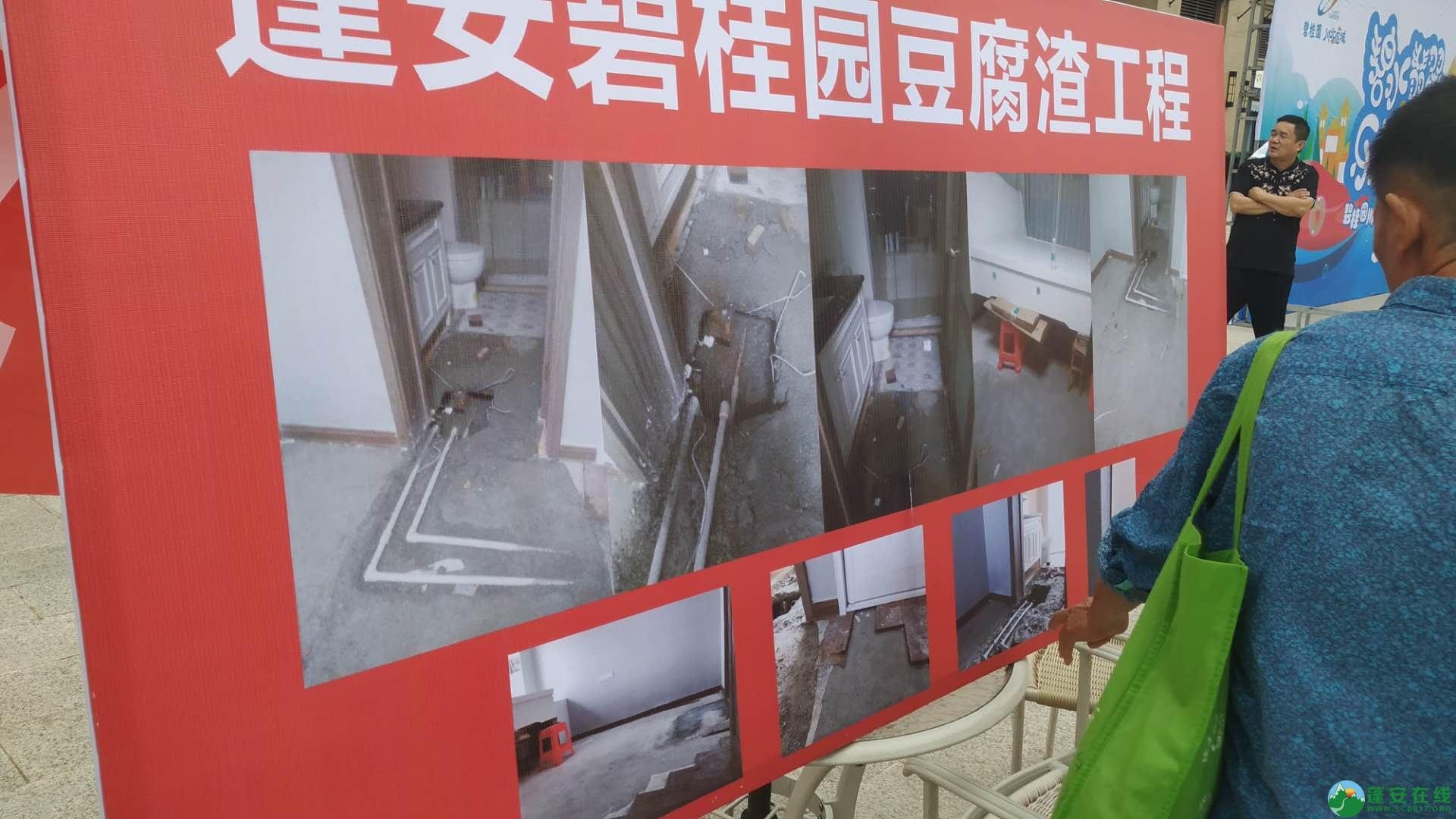 蓬安碧桂园业主因物业收费和房屋出现质量问题引发集体维权 - 第2张  | 蓬安在线