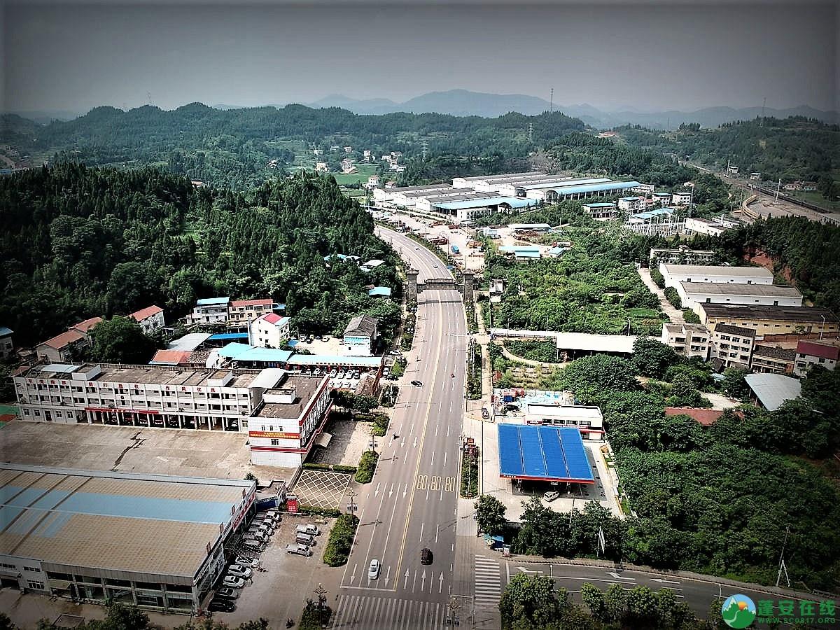 蓬安火车站全貌 - 第4张  | 蓬安在线