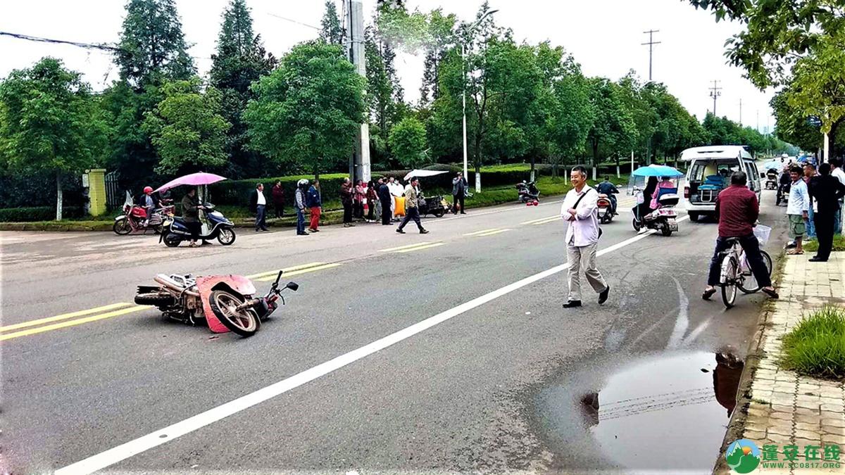 蓬安县河舒工业园区桂花路发生两摩托车相撞 - 第5张  | 蓬安在线