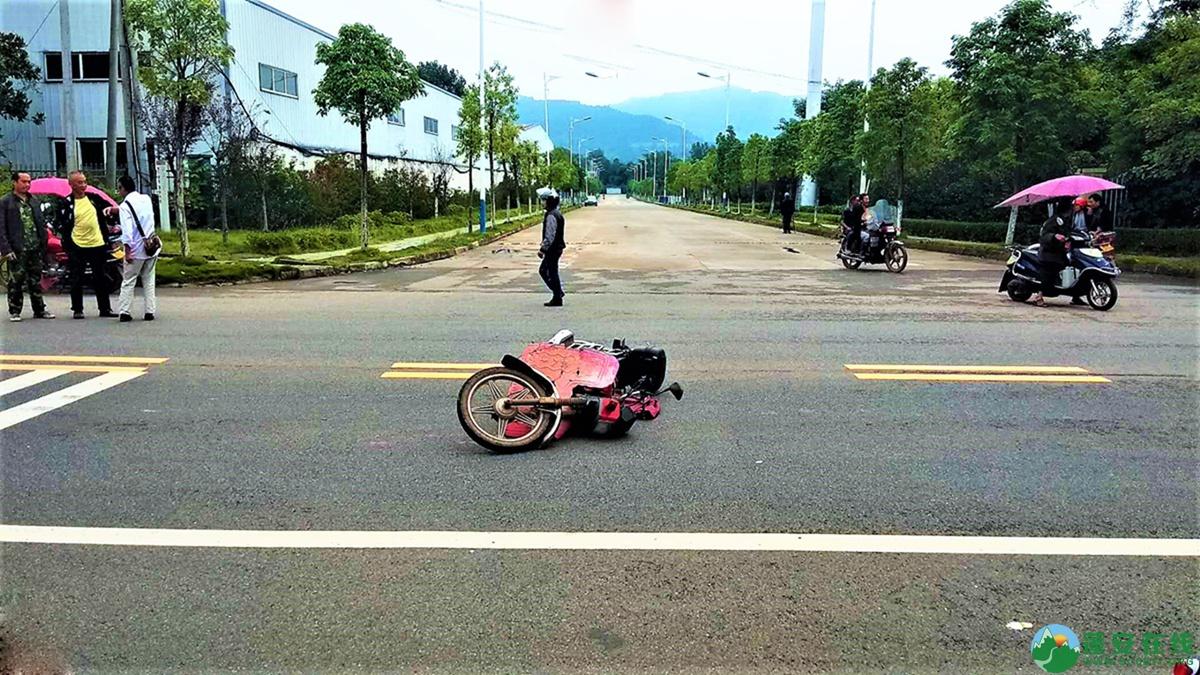 蓬安县河舒工业园区桂花路发生两摩托车相撞 - 第6张  | 蓬安在线