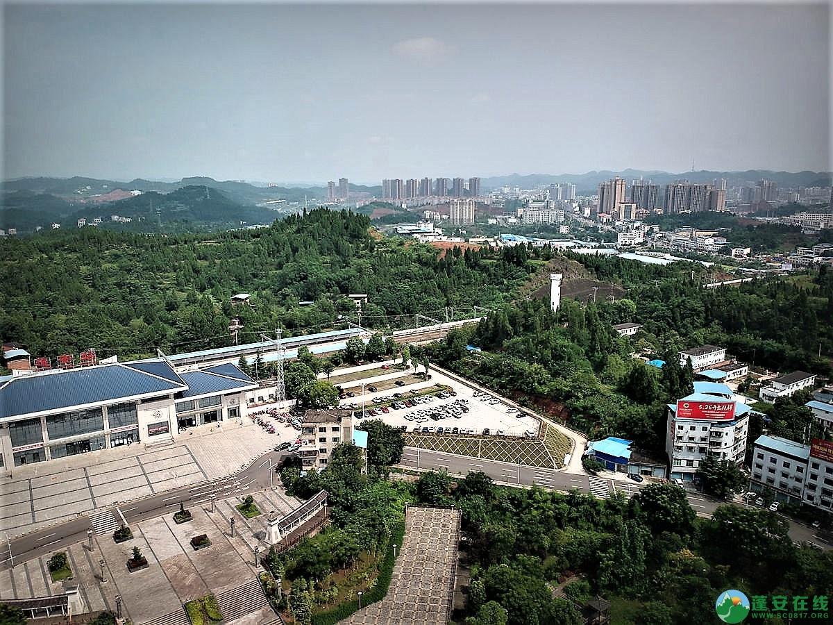 蓬安火车站全貌 - 第5张  | 蓬安在线