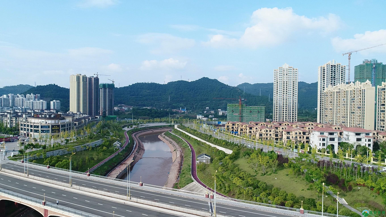 蓬安滨河新城新相貌 - 第1张  | 蓬安在线