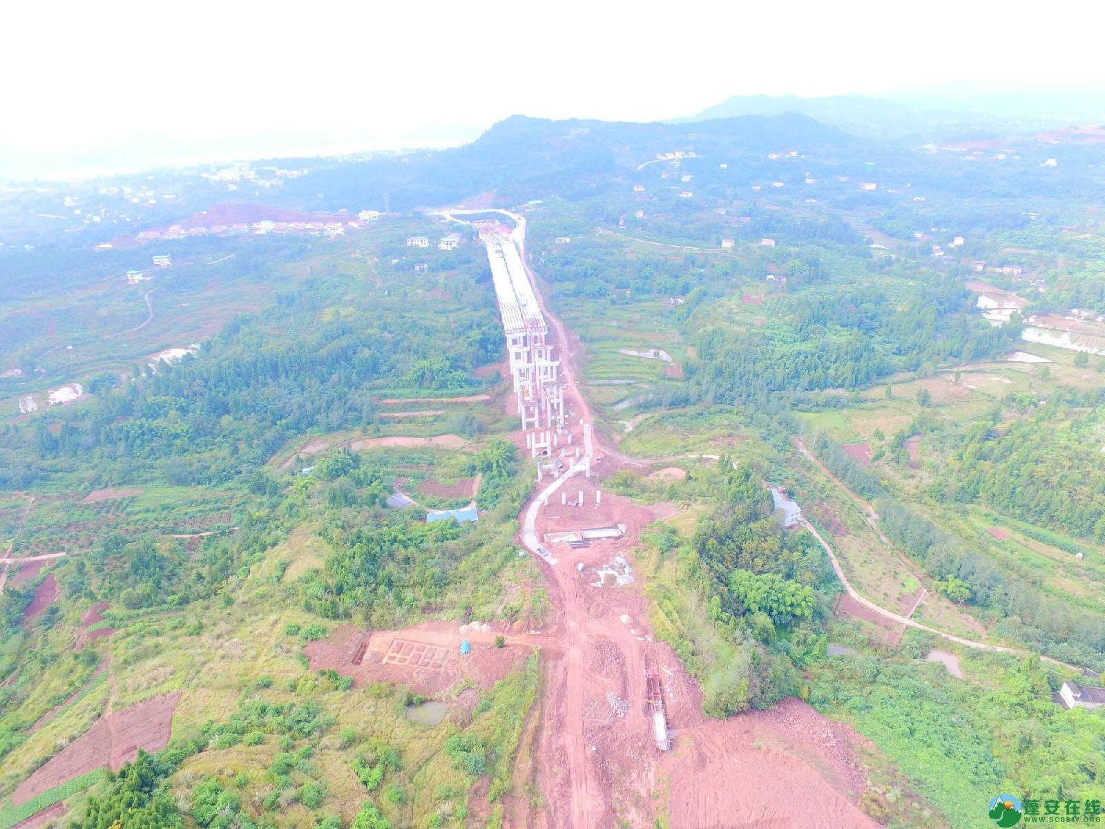 蓬安县绕城北路锦屏段、城东路段最新进展(2018年10月14日) - 第11张  | 蓬安在线