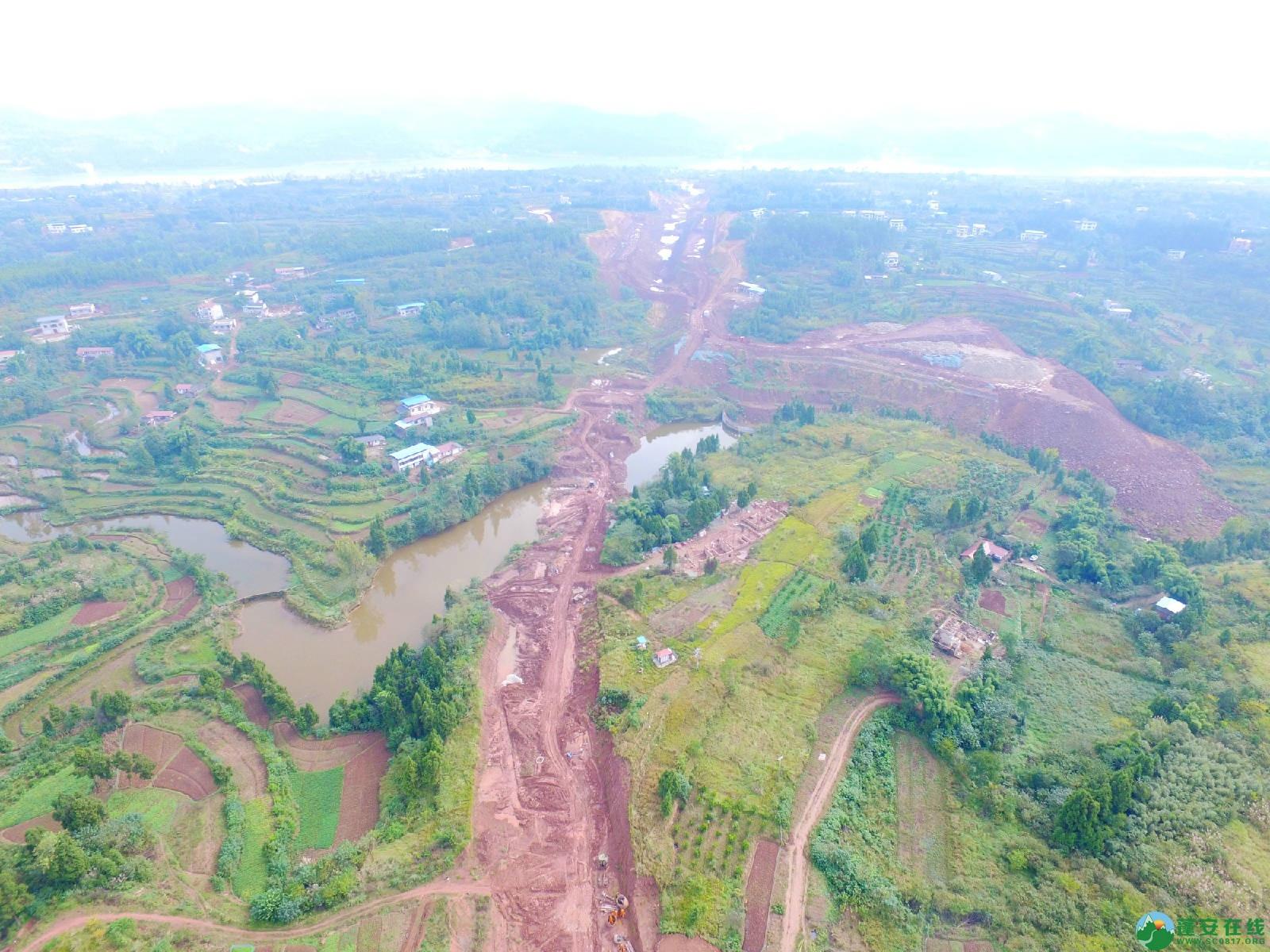 蓬安县绕城北路锦屏段、城东路段最新进展(2018年10月14日) - 第10张  | 蓬安在线