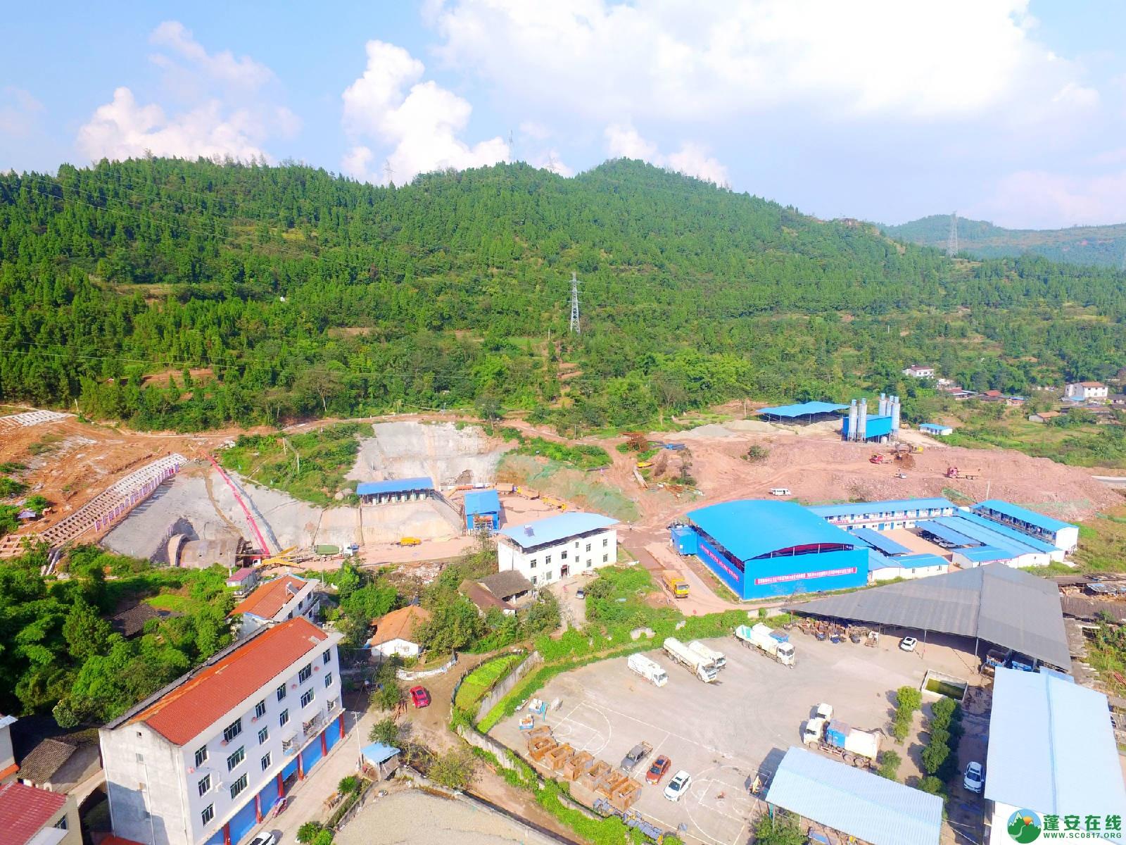 蓬安县绕城北路锦屏段、城东路段最新进展(2018年10月14日) - 第8张  | 蓬安在线