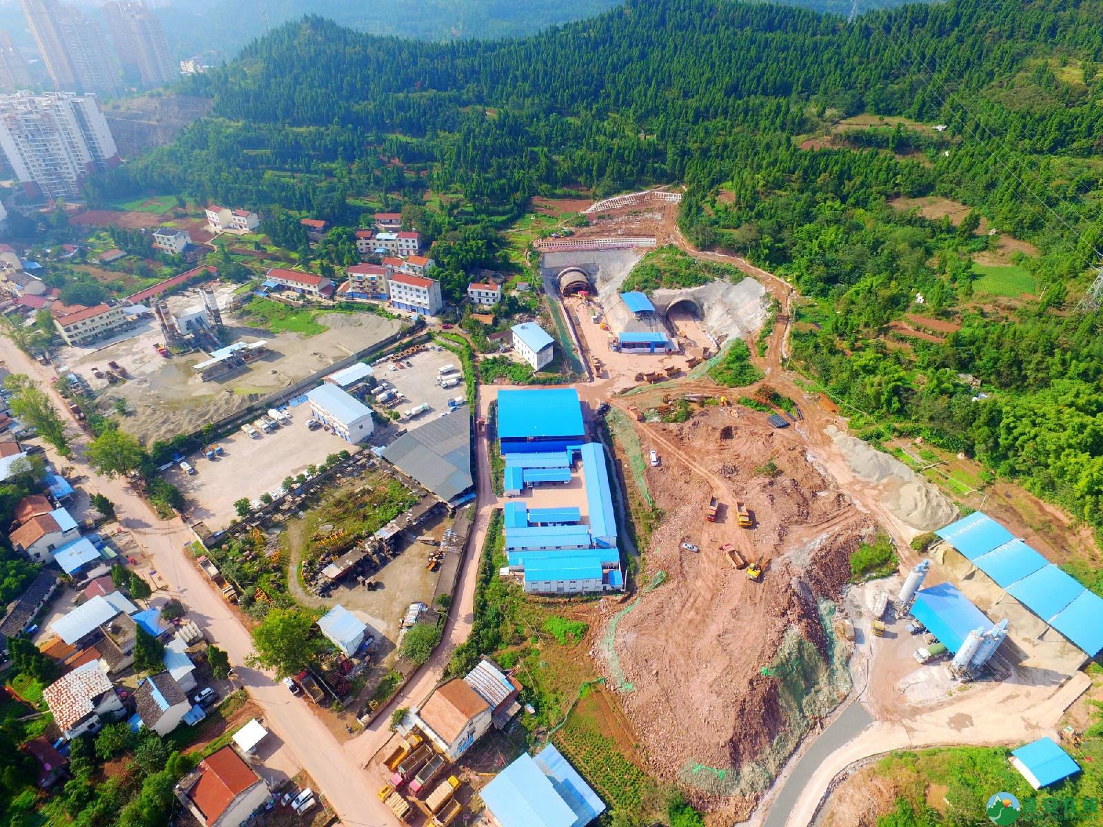 蓬安县绕城北路锦屏段、城东路段最新进展(2018年10月14日) - 第5张  | 蓬安在线