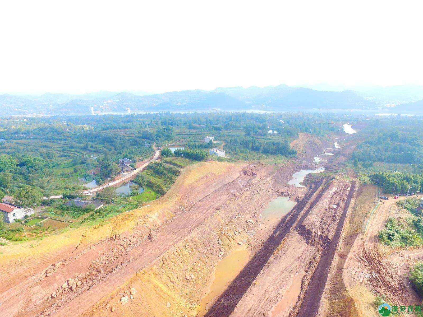 蓬安县绕城北路锦屏段、城东路段最新进展(2018年10月14日) - 第16张  | 蓬安在线