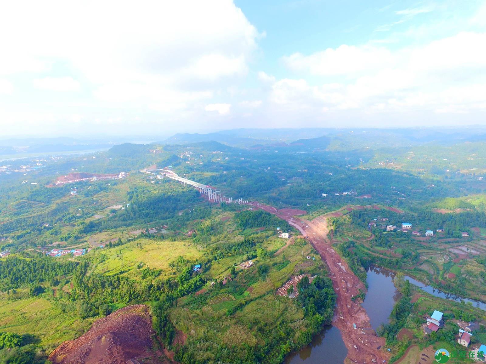 蓬安县绕城北路锦屏段、城东路段最新进展(2018年10月14日) - 第15张  | 蓬安在线