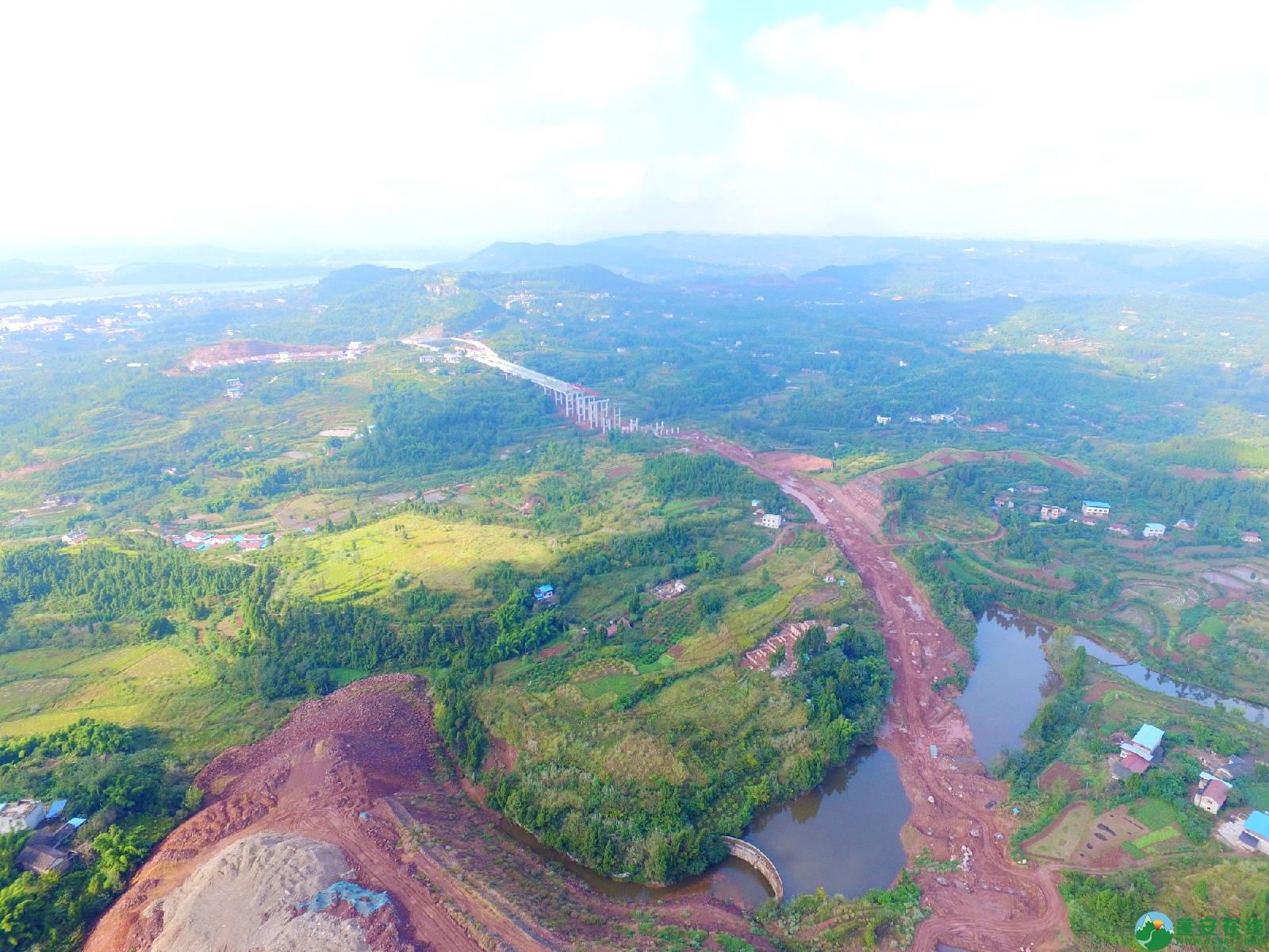 蓬安县绕城北路锦屏段、城东路段最新进展(2018年10月14日) - 第14张  | 蓬安在线