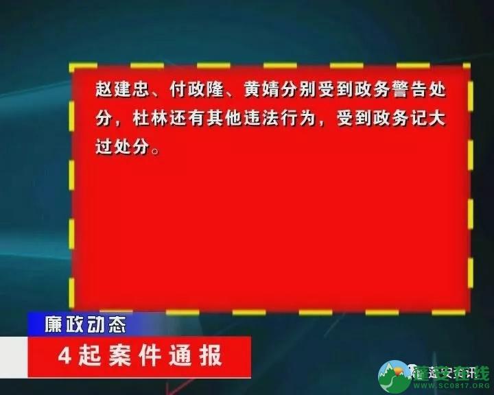 蓬安县金甲乡、新河乡、群乐乡乡领导违纪案件通报 - 第8张  | 蓬安在线