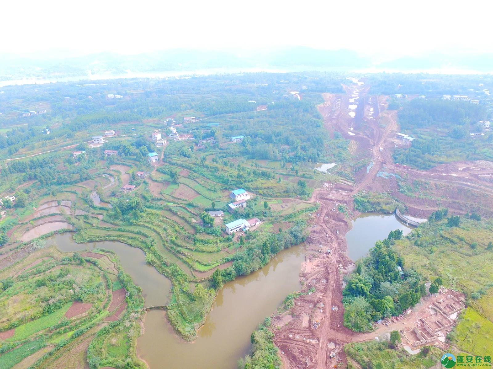 蓬安县绕城北路锦屏段、城东路段最新进展(2018年10月14日) - 第12张  | 蓬安在线
