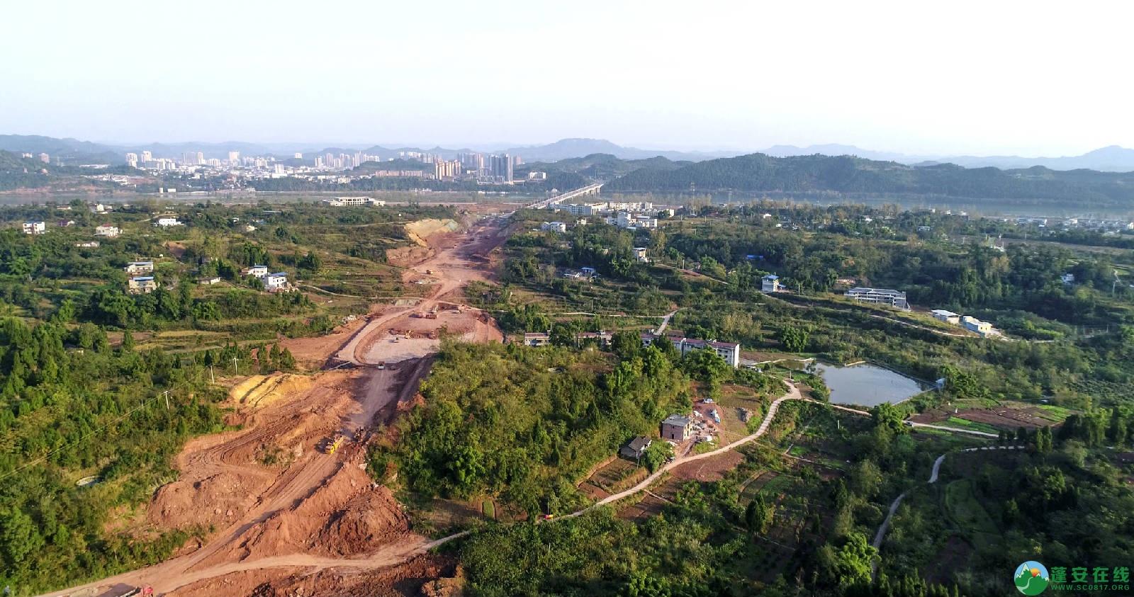 凤凰大桥西延线工程进展(2018年11月3日) - 第6张  | 蓬安在线