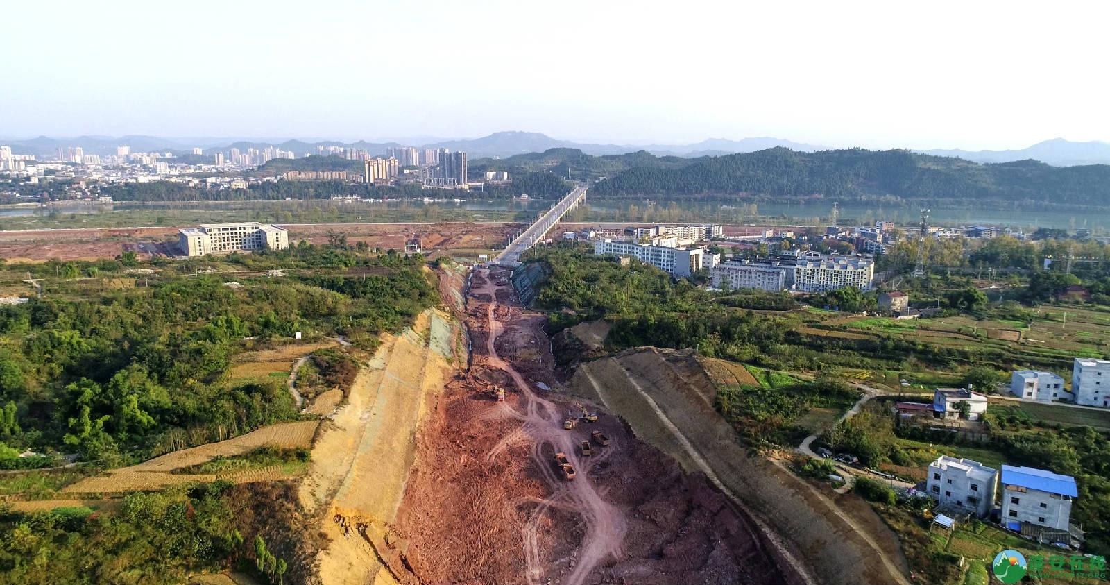 凤凰大桥西延线工程进展(2018年11月3日) - 第8张  | 蓬安在线