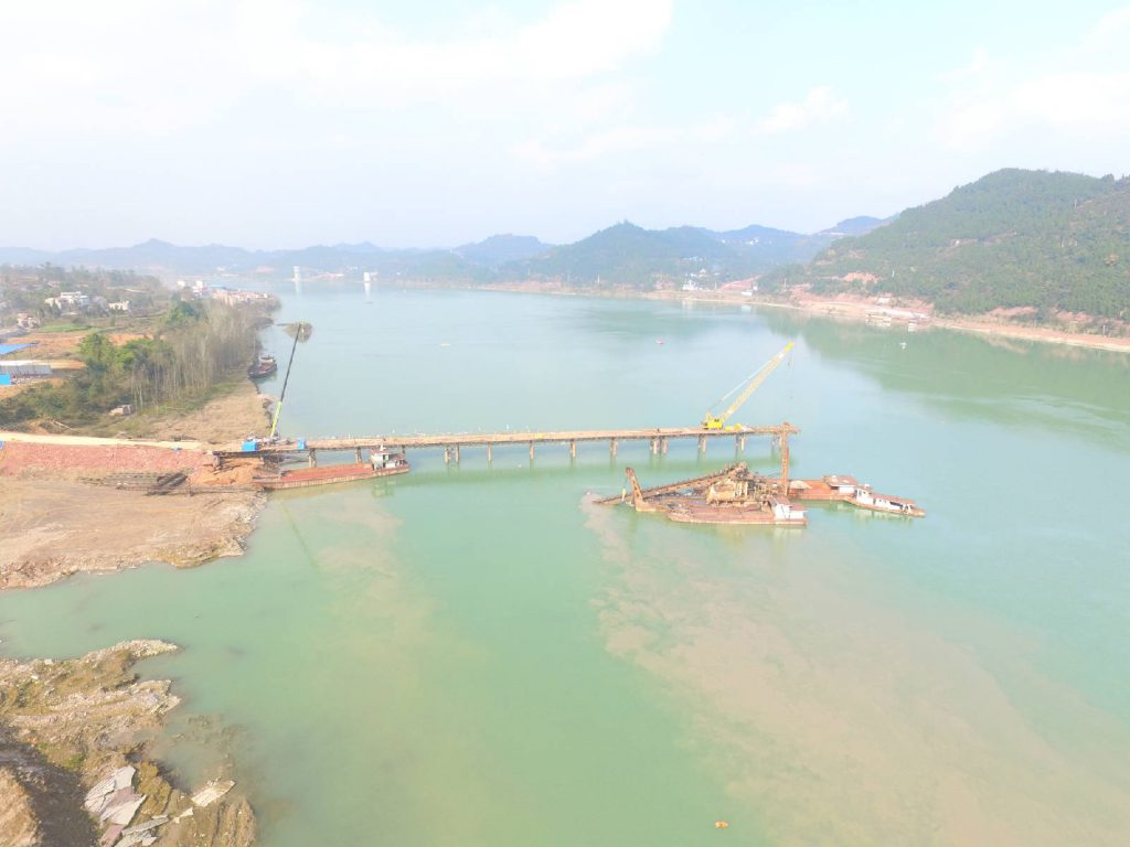 蓬安嘉陵江一桥施工进展 - 第3张  | 蓬安在线