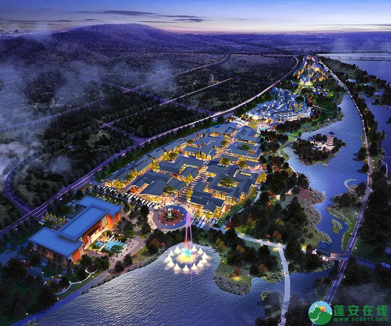 蓬安爱情小镇整体方案预览 - 第2张  | 蓬安在线
