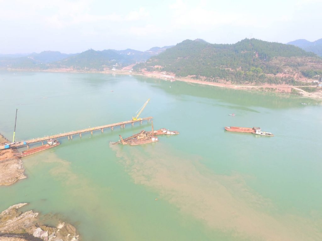 蓬安嘉陵江一桥施工进展 - 第4张  | 蓬安在线